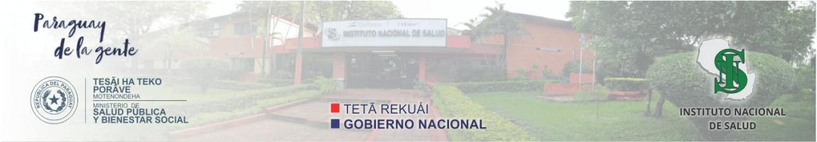 Aula Virtual - Instituto Nacional de Salud